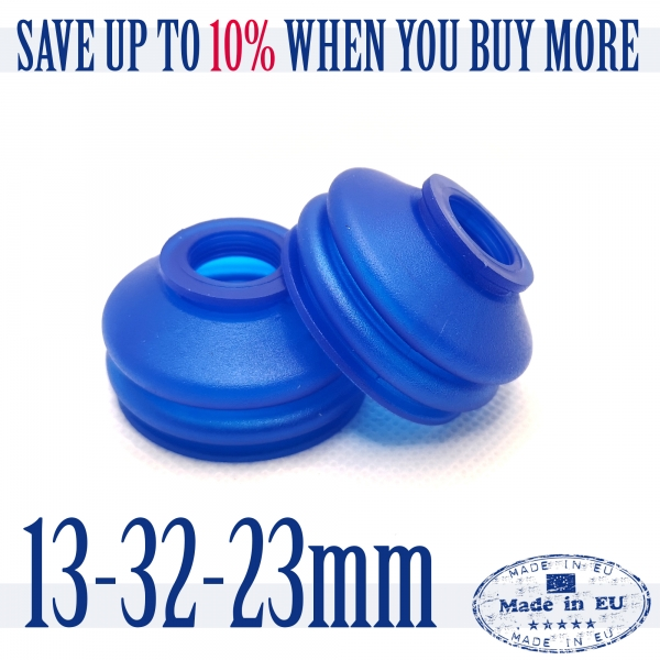 2 X UNIVERSAL Dust Boot Silicone 13 32 23 Track Rod End and Ball Joint Boots