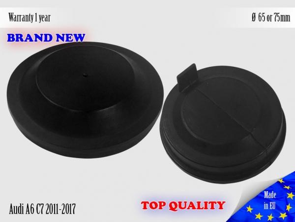 1X Audi A6 C7 2011-2017 Headlight Headlamp Cap Bulb Dust Cover 65 or 75mm Lid