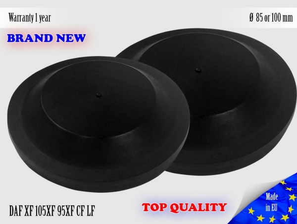 1X DAF XF 105XF 95XF CF LF Headlight Cap Bulb Dust Cover 85 or 100 mm