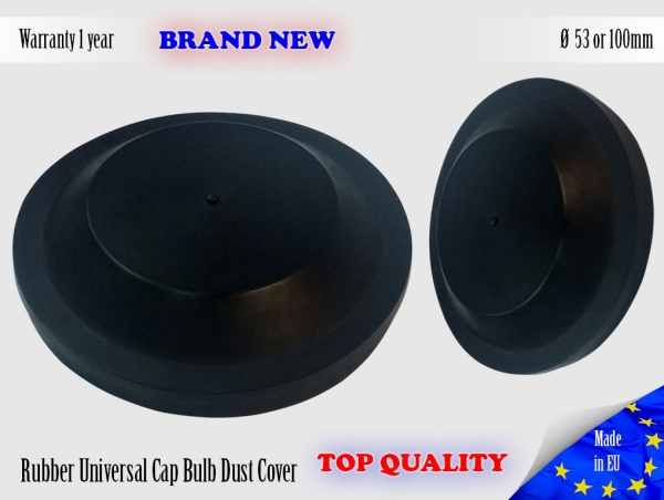 1X FORD KUGA 2008-2012 Headlight Headlamp Cap Bulb Dust Cover Lid 53 or 100mm