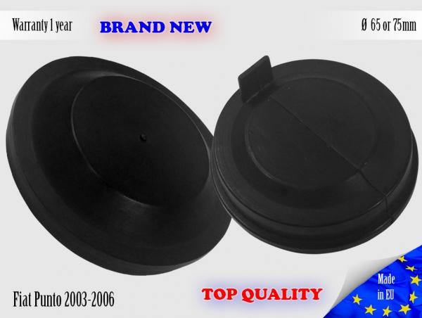1X Fiat Punto 2003-2006 Headlight Headlamp Cap Bulb Dust Cover Lid 65mm or 75mm