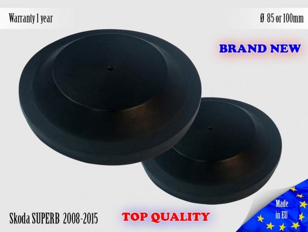 1X SKODA SUPERB B6 2008-2015 Headlight Headlamp Cap Bulb Dust Cover 85 or 100mm