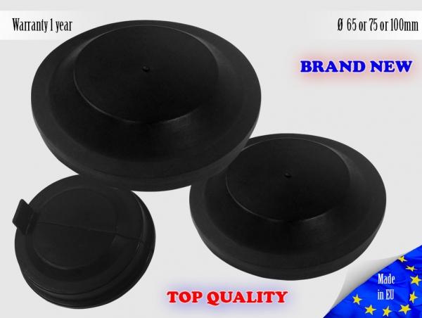 1X VW GOLF mk6 VI 2008-2013 Headlight Headlamp Cap Bulb Dust Cover Lid
