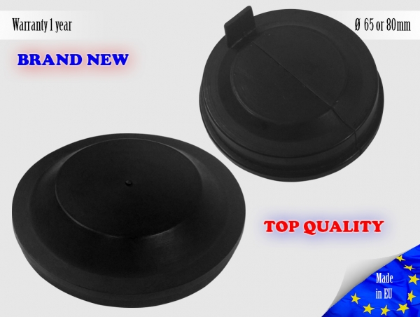 1X VW Touareg 2002-2007 Headlight Headlamp Cap Bulb Dust Cover Lid Rubber