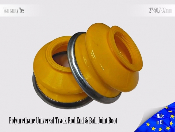 2 X UNIVERSAL Polyurethane Dust Boot 27 50,7 32 Tie Rod End & Ball Joint Boots