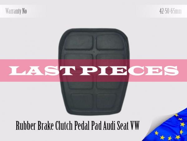 321721173 Audi Seat Volkswagen Rubber Pedal Pad Brake Clutch