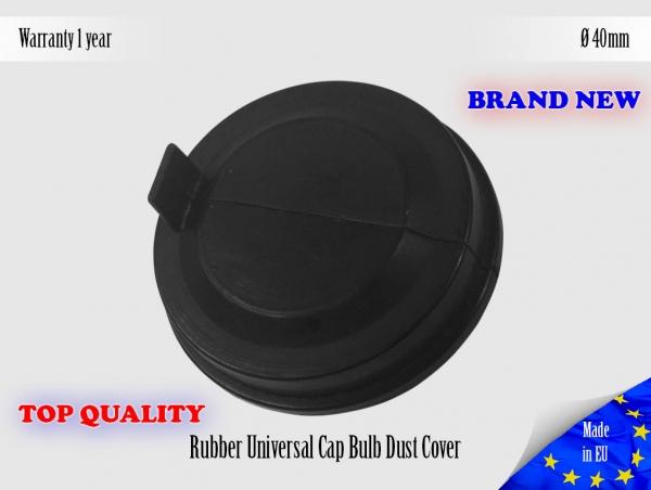 100mm Universal Rubber Headlight Headlamp Cap Bulb Dust Cover Lid