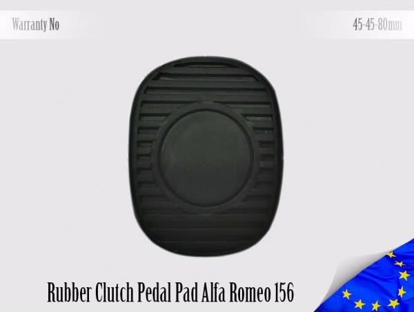 Alfa Romeo 156 Rubber Pedal Pad Clutch 60627197