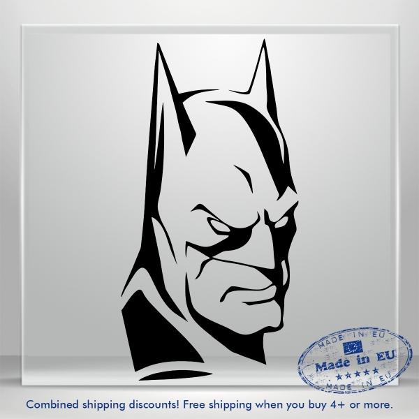 Batman Vinyl Decal JDM Auto Car Bumper Window Sticker Truck Banner Laptop Wall