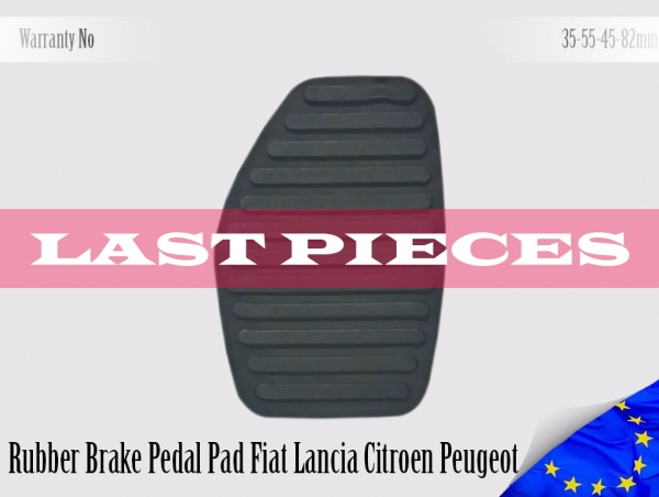 Citroen Fiat Lancia Peugeot Rubber Pedal Pad Brake 450412, 9120804880