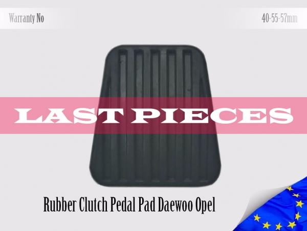 Daewoo Opel Rubber Pedal Pad Clutch 90105172, 560808