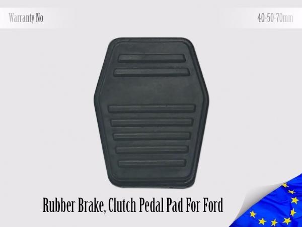 Ford Rubber Pedal Pad Brake Clutch Focus Mondeo Cougar Scorpio Tourneo Transit