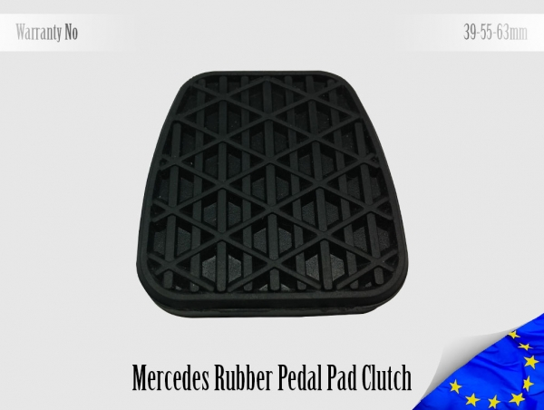 Mercedes Rubber Pedal Pad Clutch 2012910282