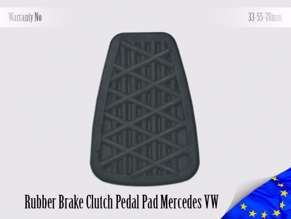 Mercedes Sprinter Volkswagen LT Pedal Pad Brake Clutch 3192920082, 2D0721173A