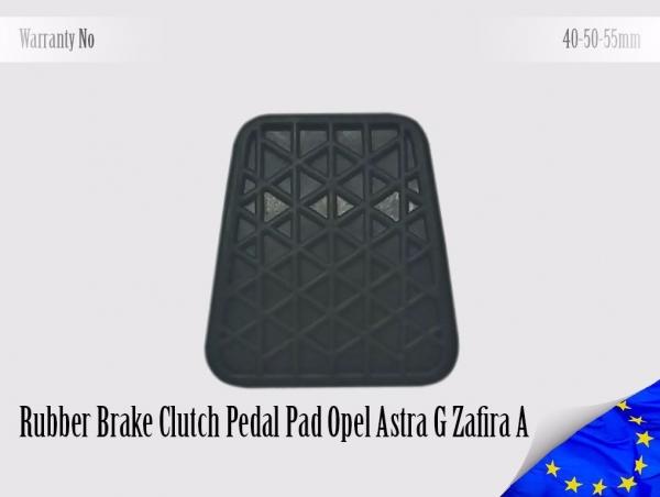 Opel Astra G Zafira A Rubber Pedal Pad Brake Clutch 560775, 90498309