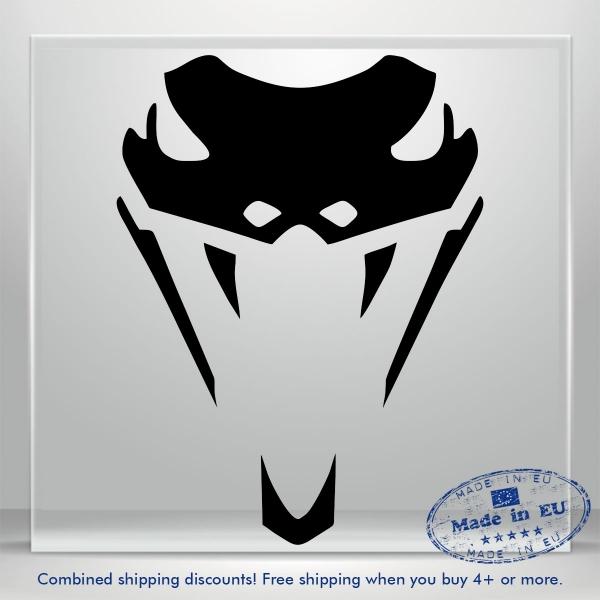 Snake Viper Sticker Venom Cobra Truck Car Bumper Window Vinyl Decal Rattlesnake