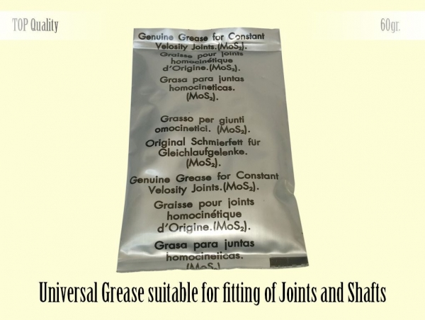 UNIVERSAL Grease Sachet Drive Shaft, CV Joint Boot, Ball Joint Dust Boot