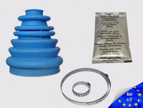 Universal High Quality Blue Silicone CV Joint Boot Drive Shaft sk03a